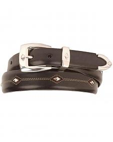 Denver Diamond-Shaped Stud Belt