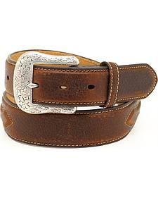 Ariat Men's Leather Concho Belt