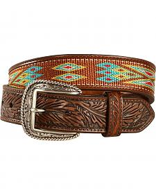 Ariat Men's Ribbon Inlay Belt