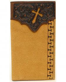 Ariat Men's Rodeo Stitch Cross Tabs Wallet