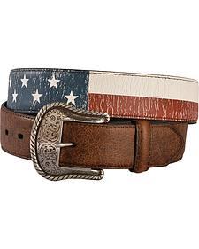 Roper Men's Americana Leather Belt