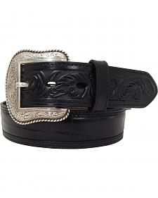 Dan Post Men's Gator Print Leather Belt
