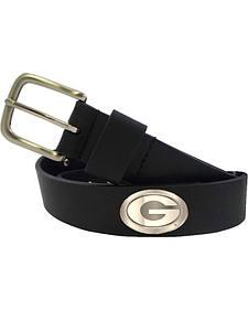 Collegiate Georgia Men's Bridle Leather Belt