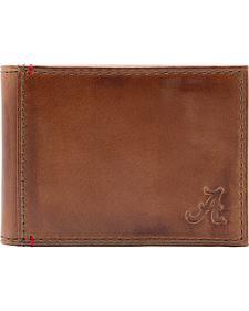 Jack Mason Men's University of Alabama Campus Flip Bifold Wallet