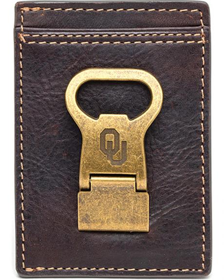 Jack Mason University of Oklahoma Gridiron Multicard Front Pocket Wallet