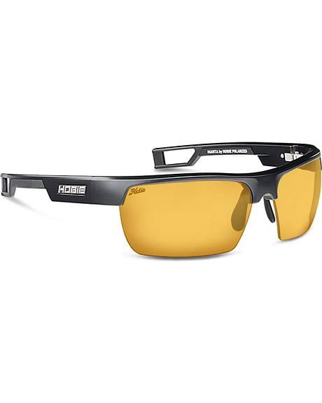 Hobie Men's Sightmaster and Satin Black Manta Polarized Sunglasses