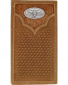 Cody James Men's Hair-on-Hide Longhorn Rodeo Wallet