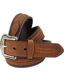Roper Men's Brown Leather Belt