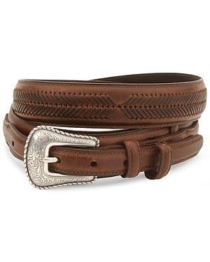 Nocona Leather Ranger Belt - Reg & Big