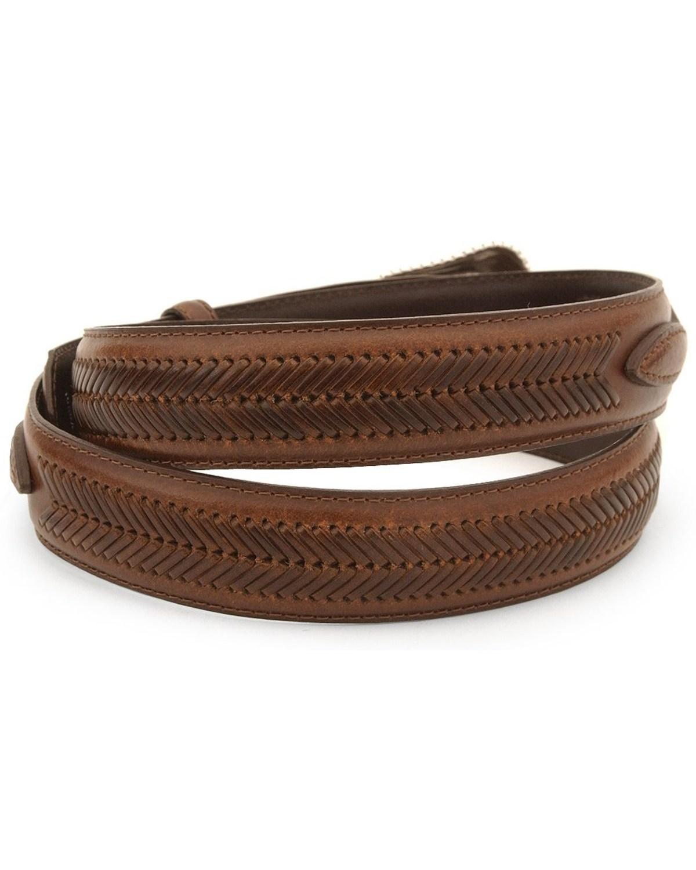 nocona s leather ranger belt reg and big n2476802 ebay