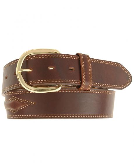 Padded Leather Belt - Reg & Big