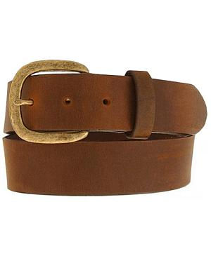 Justin Basic Leather Work Belt - Reg & Big