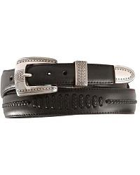Tony Lama Tapered Leather Dress Belt at Sheplers