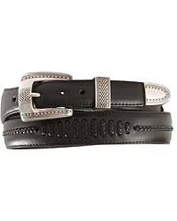 Tony Lama Tapered Leather Dress Belt at Sheplers