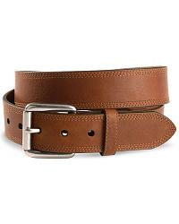 Ariat Triple Stitched Leather Belt - Reg & Big at Sheplers