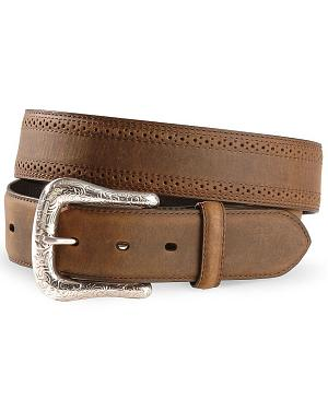 Ariat Basic Western Leather Belt - Reg & Big