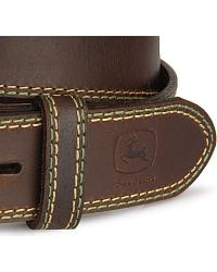 John Deere Leather Belt at Sheplers