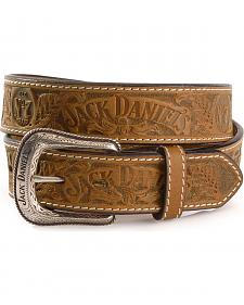 Jack Daniel's Embossed Leather Belt