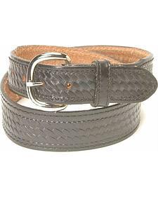 Men's Basketweave Belt - Big