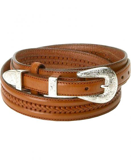 Tony Lama Leather Ranger Belt - Reg & Big