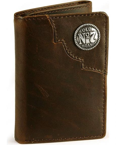 Jack Daniel's Tri-Fold Leather Wallet