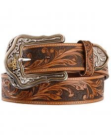 Tony Lama Westerly Ride Leather Belt - Reg & Big