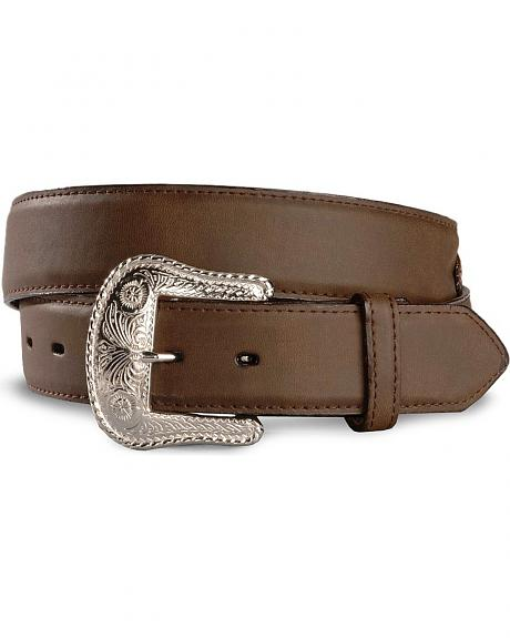 Exclusive Gibson Trading Co. Tapestry Arrowhead Leather Belt