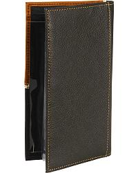 Cross Concho Checkbook Black at Sheplers