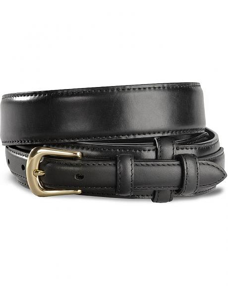 Smooth Leather Ranger Western Belt