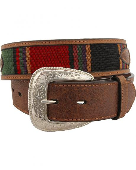 Fancy Oval Concho Western Belt