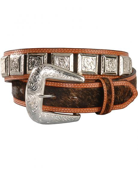 Square Concho Belt