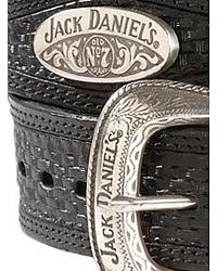 Jack Daniel's Scalloped Basketweave Rawhide Belt at Sheplers