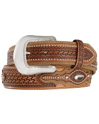 Tony Lama Classic Country Western Belt at Sheplers
