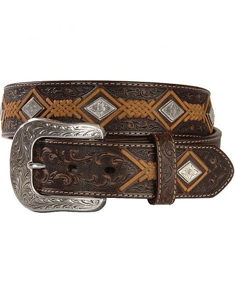 Diamond Lace Western Belt