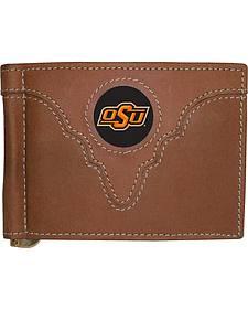 Oklahoma State University Logo Patch Bi-Fold Wallet