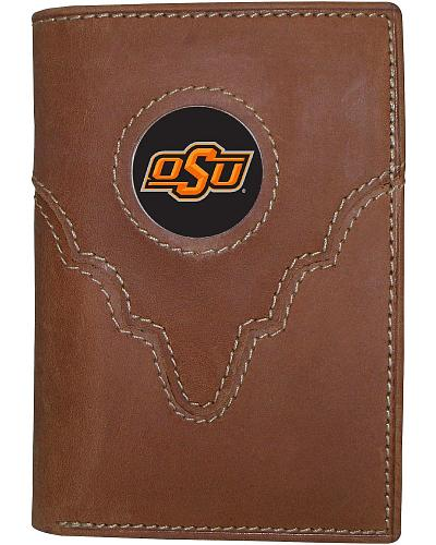 Oklahoma State University Logo Patch Tri-Fold Wallet Western & Country 3103017-269