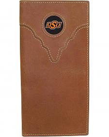 Oklahoma State University Logo Patch Checkbook