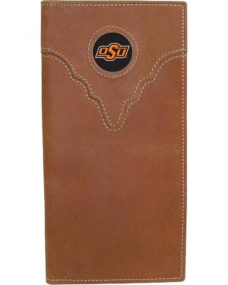 Oklahoma State University Logo Patch Checkbook