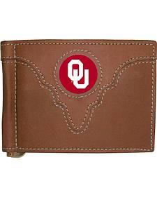 University of Oklahoma Logo Patch Bi-Fold Wallet