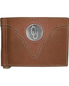 University of Oklahoma Logo Concho Bi-Fold Wallet
