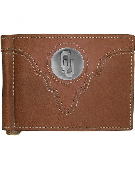 University of Oklahoma Logo Concho Bi-Fold Wallet