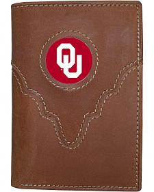 University of Oklahoma Logo Patch Tri-Fold Wallet