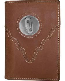 University of Oklahoma Logo Concho Tri-Fold Wallet