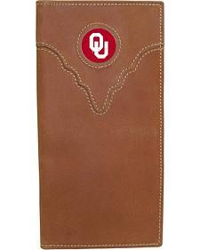 University of Oklahoma Logo Patch Checkbook