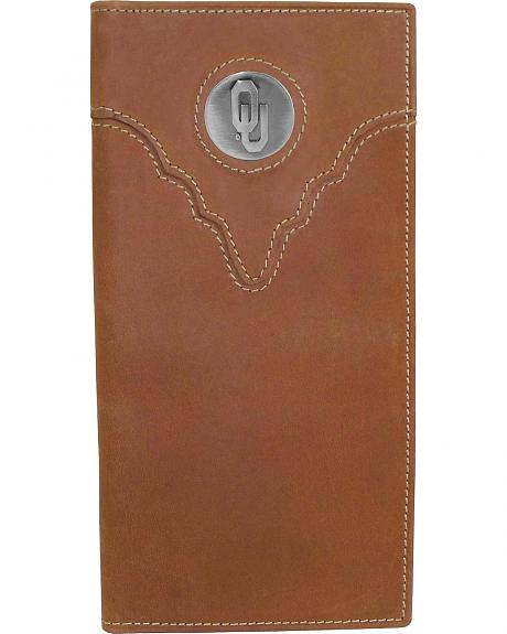 University of Oklahoma Logo Concho Checkbook