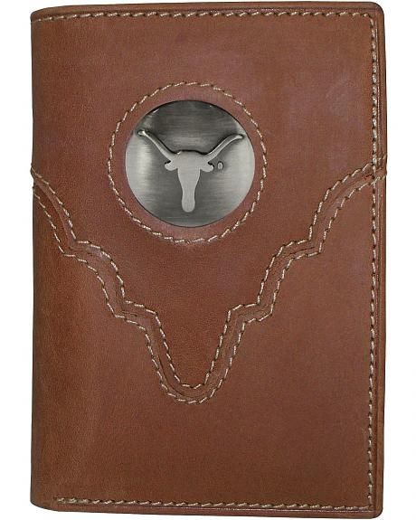 University of Texas Logo Concho Tri-Fold Wallet