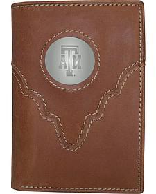 Texas A&M Logo Concho Tri-Fold Wallet