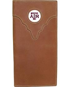 Texas A&M Logo Patch Checkbook