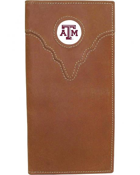 Texas A&M Logo Patch Checkbook