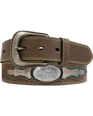 Oklahoma State University Concho Overlay College Belt
